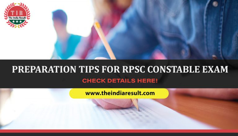 RPSC Constbale Prepartion Tips