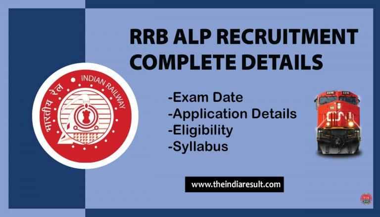 Railway ALP Recruitment