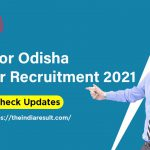Odisha Teacher Recruitment Jobs 2021