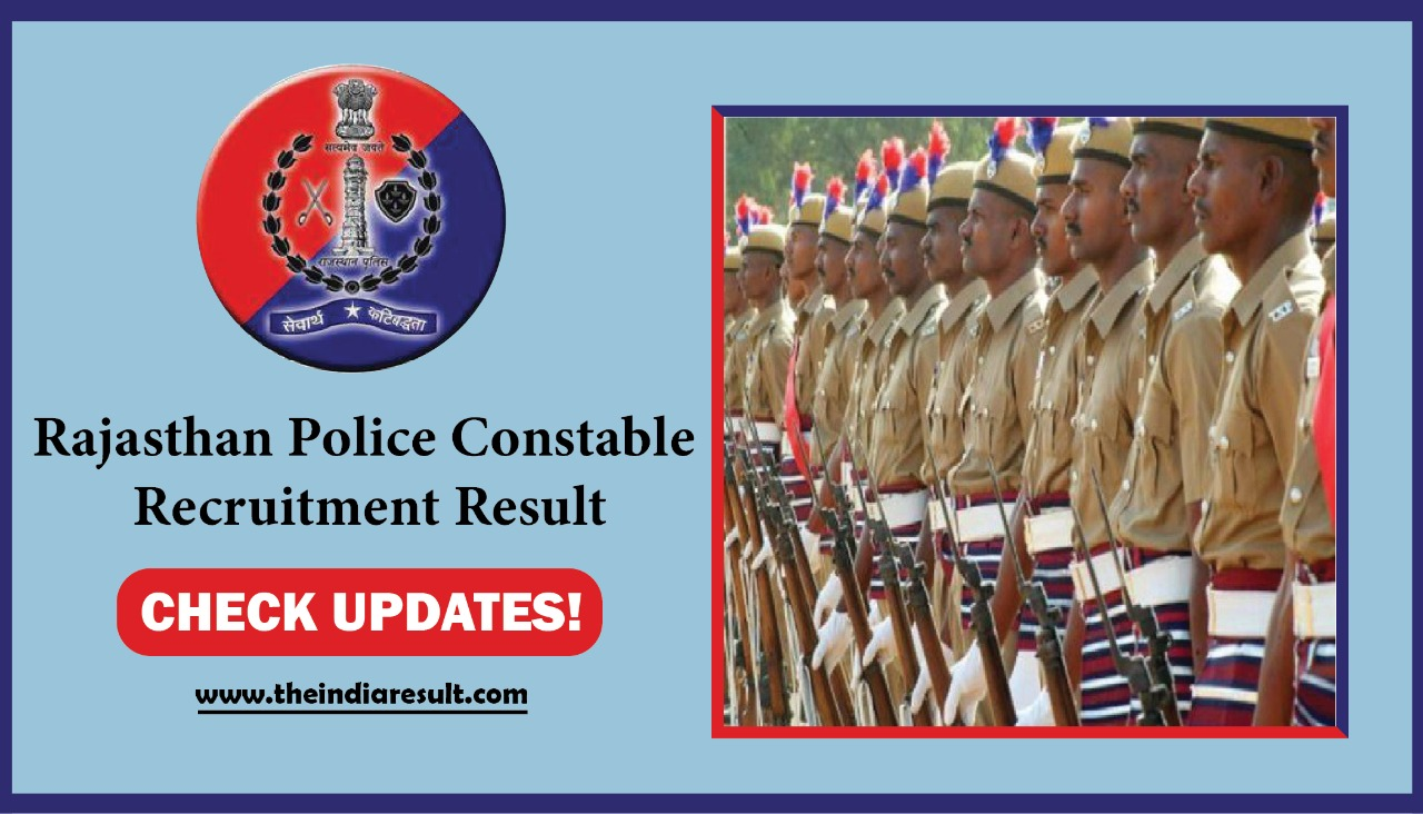 Rajasthan Police Updates