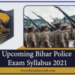 Upcoming Bihar Police Exam Updates