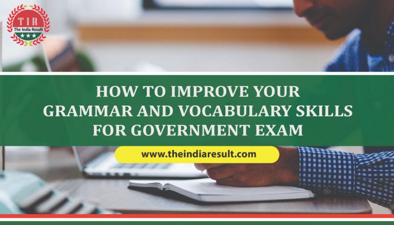 Improve Grammar For The Government Exams in 2021